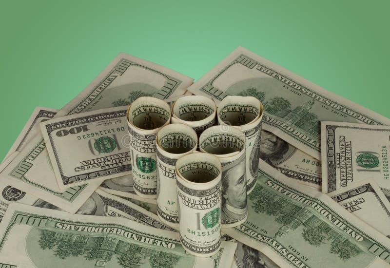 dolary trójboków zdjęcia stock