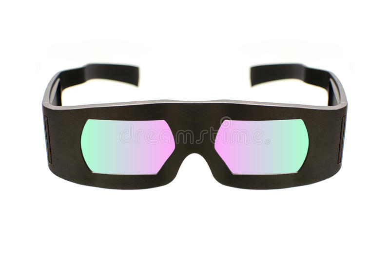 Dolby cinema 3D glasses stock images