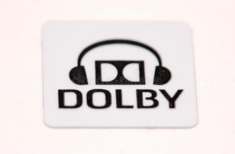 dolby logo royalty free stock image