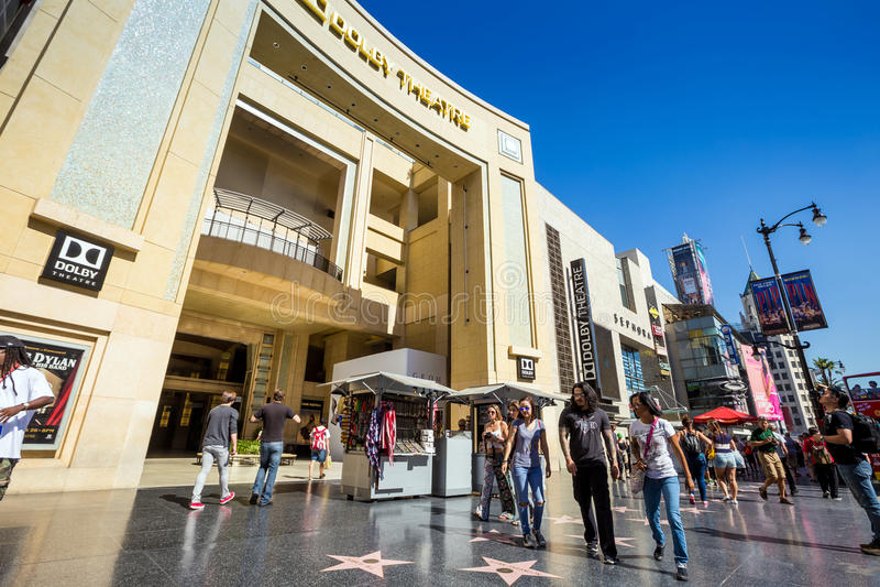 Dolby Theatre (kodaka Theatre) fotografia royalty free