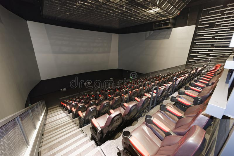 Dolbykino 3D lizenzfreie stockbilder