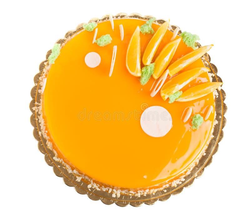 Dolce arancio lustrato delizioso immagine stock