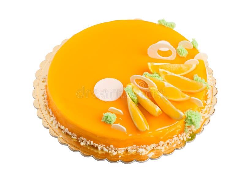Dolce arancio lustrato delizioso immagine stock libera da diritti