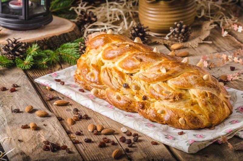Dolce ceco tradizionale di Natale immagine stock
