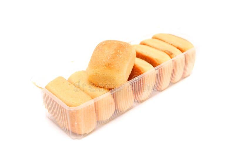 Dolce dell'ananas dei biscotti del cinese tradizionale fotografie stock