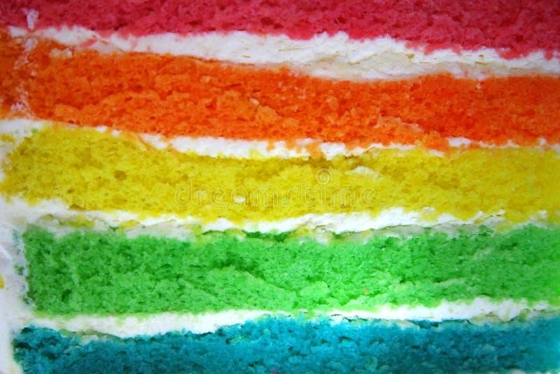 Dolce dell'arcobaleno fotografia stock