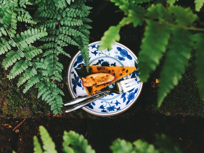 Dolce della frutta, vista superiore fotografia stock