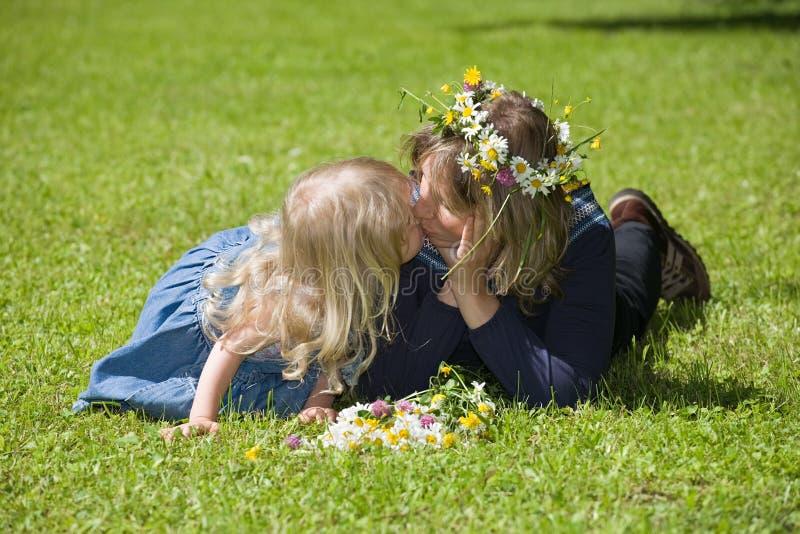 dolce di bacio fotografie stock