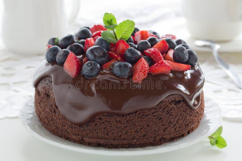 Download Dolce di cioccolato fotografia stock. Immagine di torta - 30825098