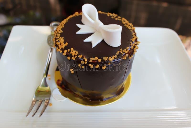 Download Dolce di cioccolato immagine stock. Immagine di sapore - 55350479