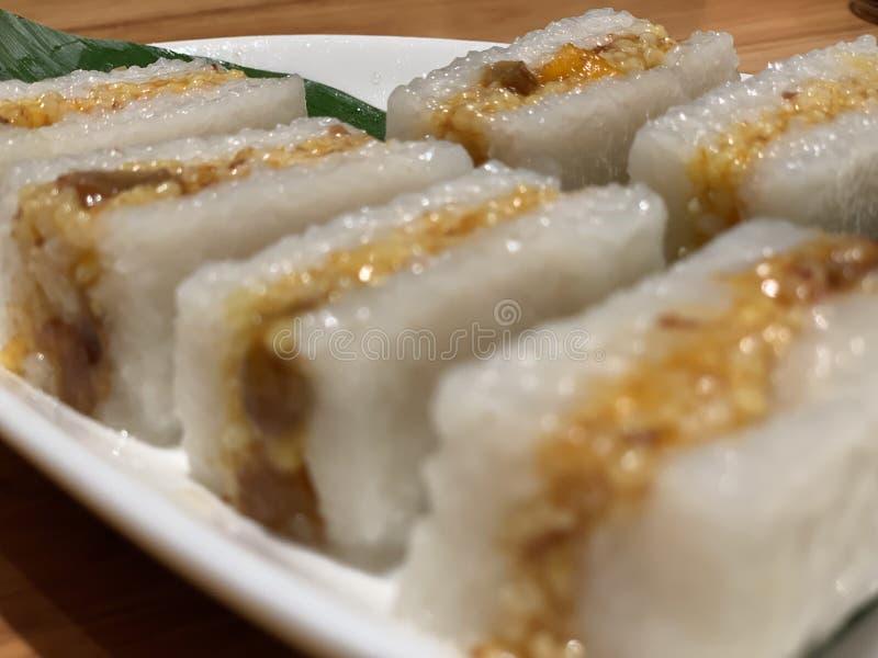 Dolce di riso appiccicoso da Hainan fotografia stock