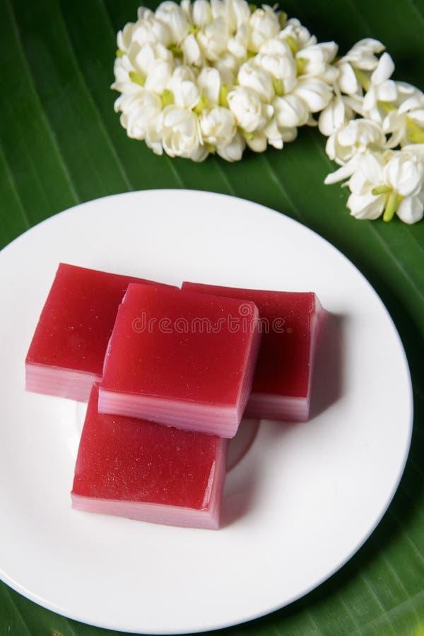 Download Dolce Dolce Di Strato Tradizionale Tailandese Immagine Stock - Immagine di tailandese, rosso: 56890249