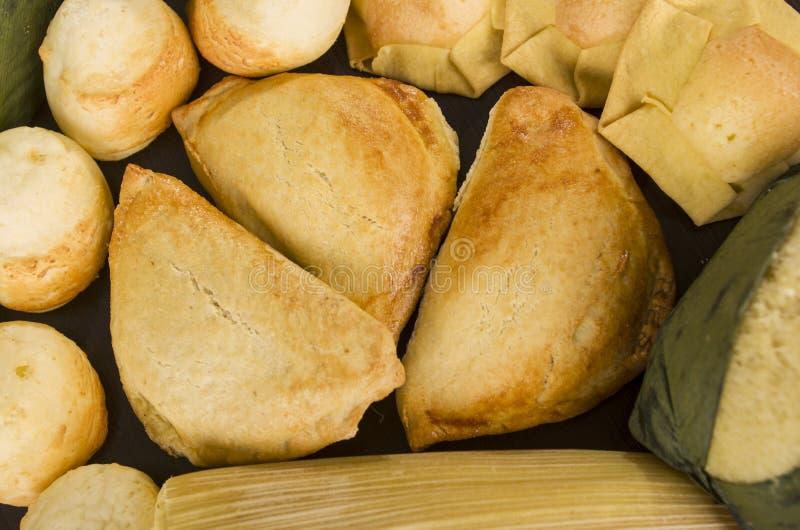 Dolce ecuadoriano tradizionale dell'alimento immagini stock libere da diritti