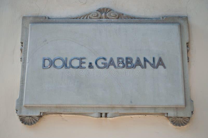 Dolce & Gabbana arkivfoton