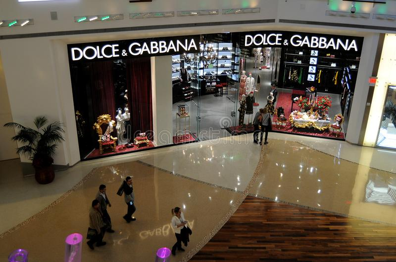 DOLCE & GABBANA STORE royalty free stock photos