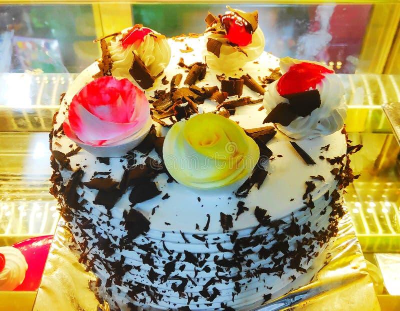 Dolce indiano del dessert del dolce di celebrazione di compleanno immagini stock libere da diritti