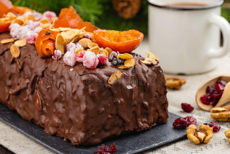Dolce Tradizionale Della Frutta Di Natale Cucina Inglese ...