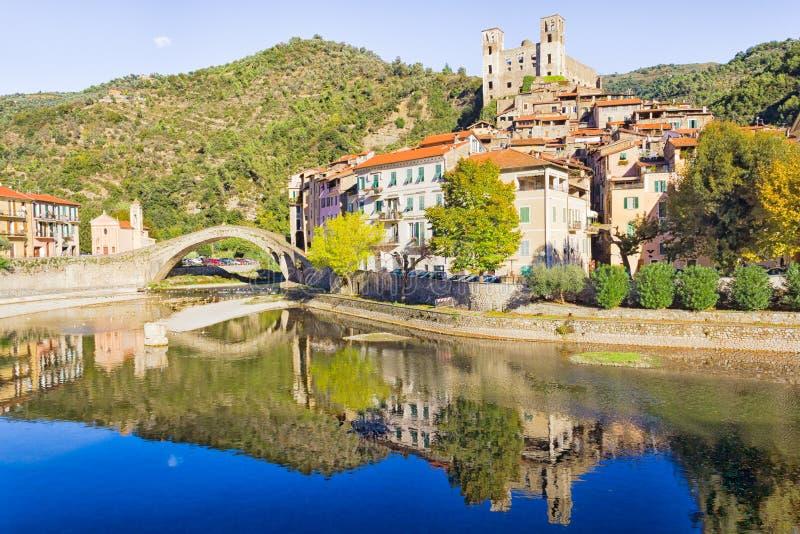 Dolceacqua, Włochy zdjęcie royalty free