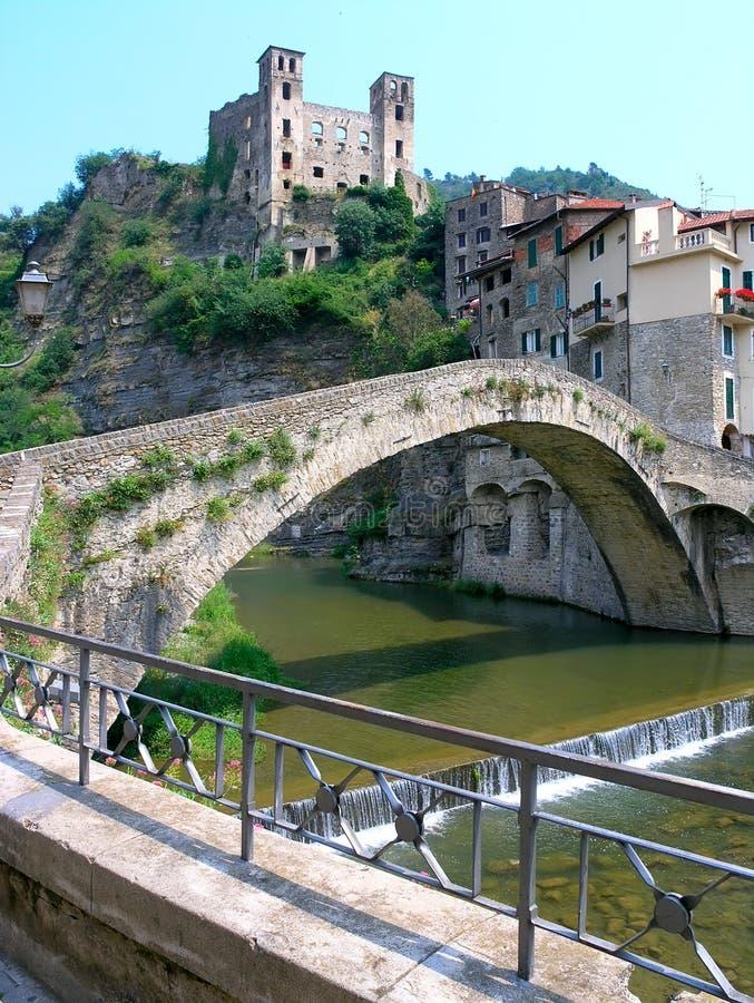 dolceaqua моста стоковая фотография