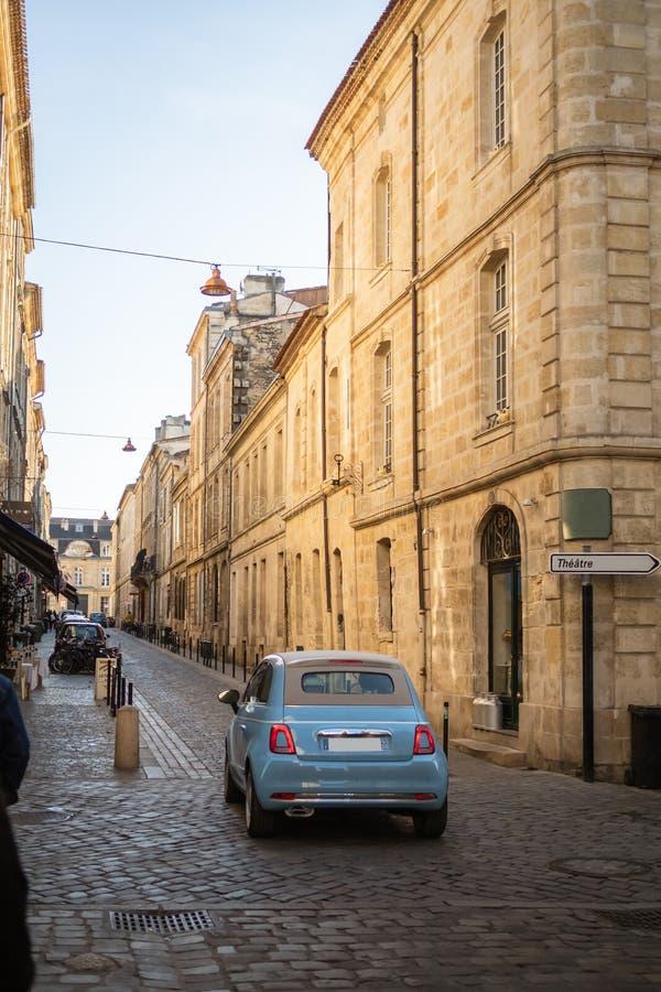 Dolche Vita в улицах Бордо стоковая фотография