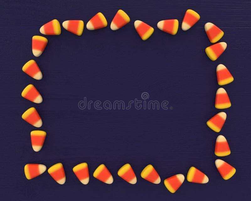 Dolci bianchi, arancio e gialli classici della caramella immagine stock