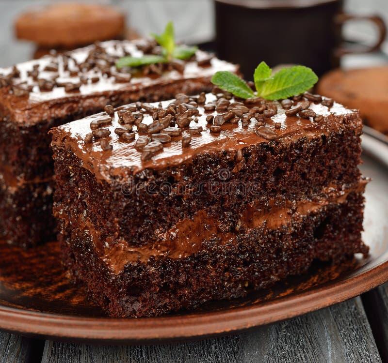 Dolci di cioccolato immagini stock libere da diritti