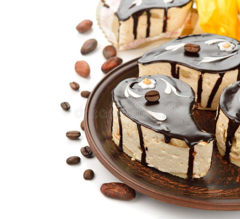 Dolci di cioccolato immagine stock