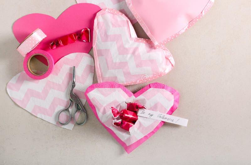 Dolci di San Valentino fotografia stock