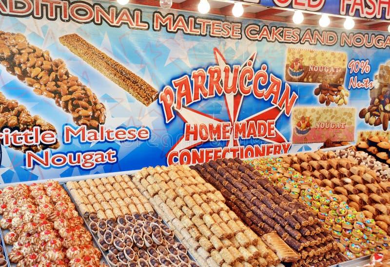 Dolci a Malta immagini stock