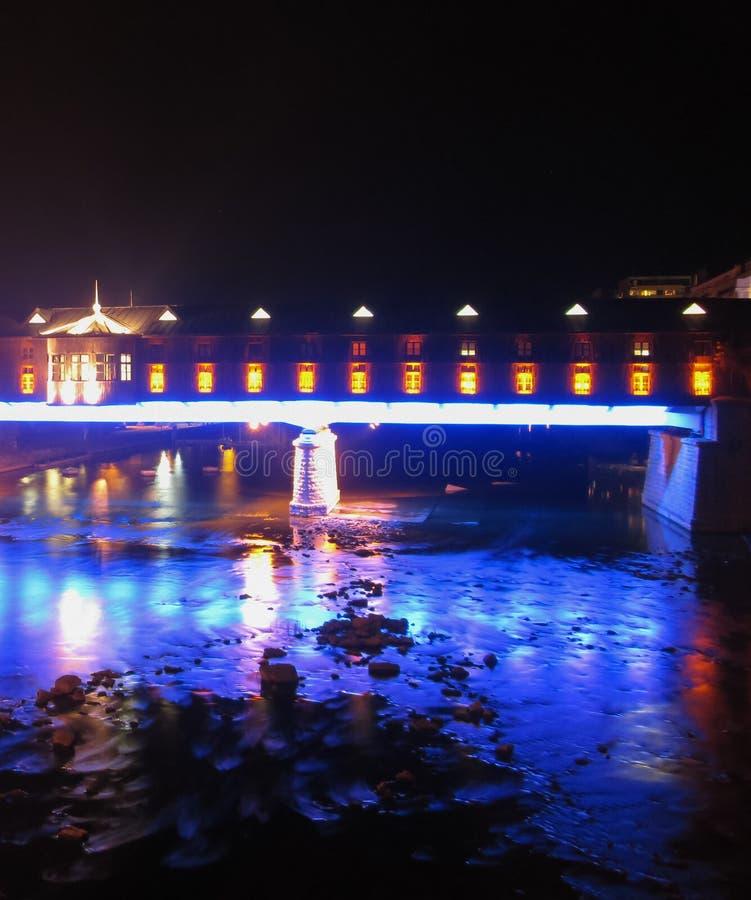 Dold bro royaltyfria bilder
