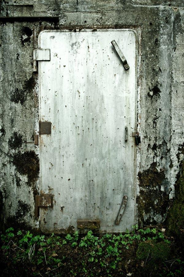 dold bunker royaltyfri fotografi