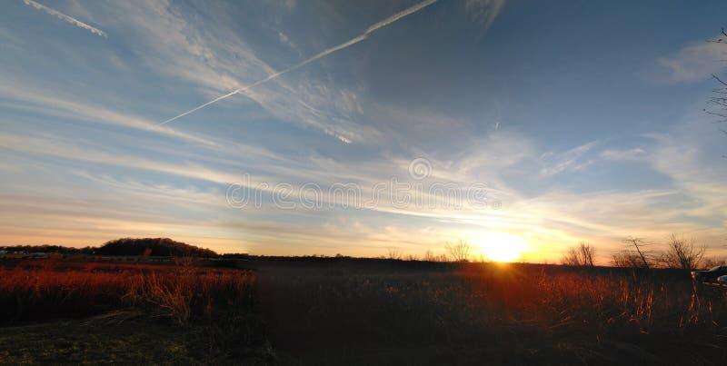 Dolina łąka obraz stock