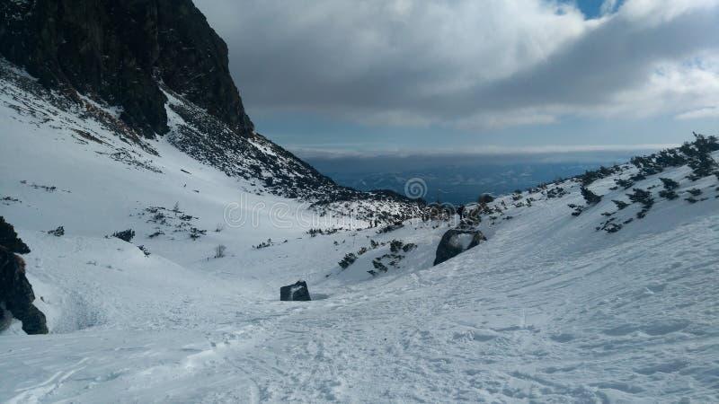 Dolina Словакии Mlynicka int высоко- Tatras стоковые фотографии rf