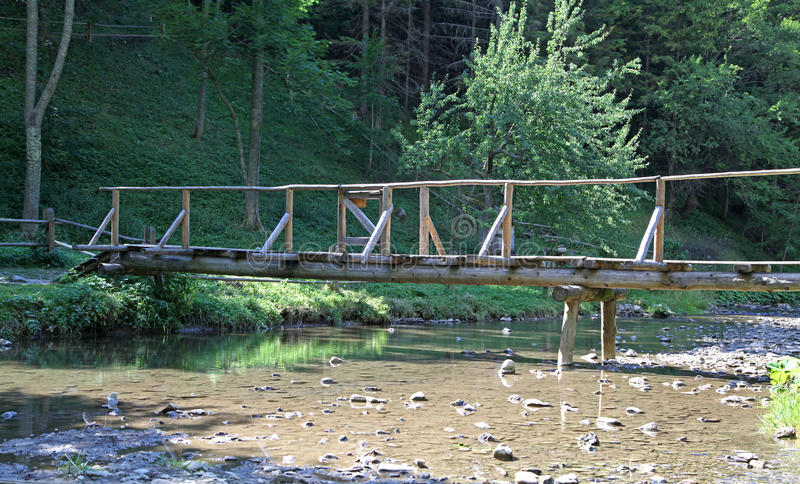 Dolina de Kvacianska - vale na região Liptov, Eslováquia imagens de stock royalty free