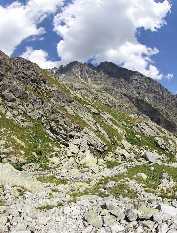 Dolina de studena de Mala - vallée dans haut Tatras, Slovaquie