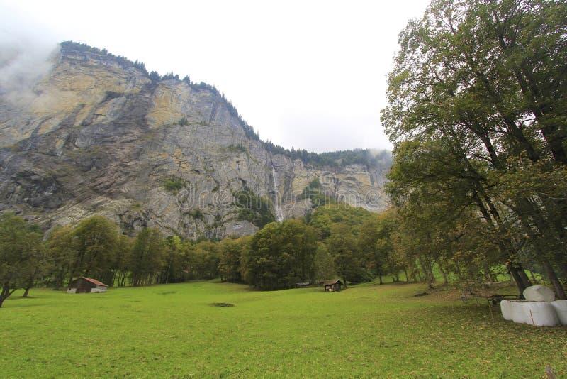 Dolina, gospodarstwo rolne obrazy royalty free