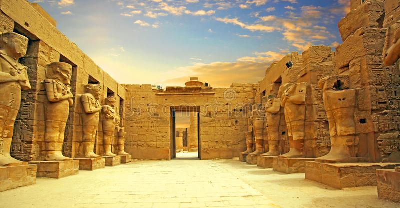 Dolina królewiątka, w Luxor Thebes Antycznym zachodnim banku obrazy stock