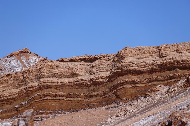 Dolina księżyc - Valle de los angeles Luna, Atacama pustynia, Chile zdjęcie royalty free