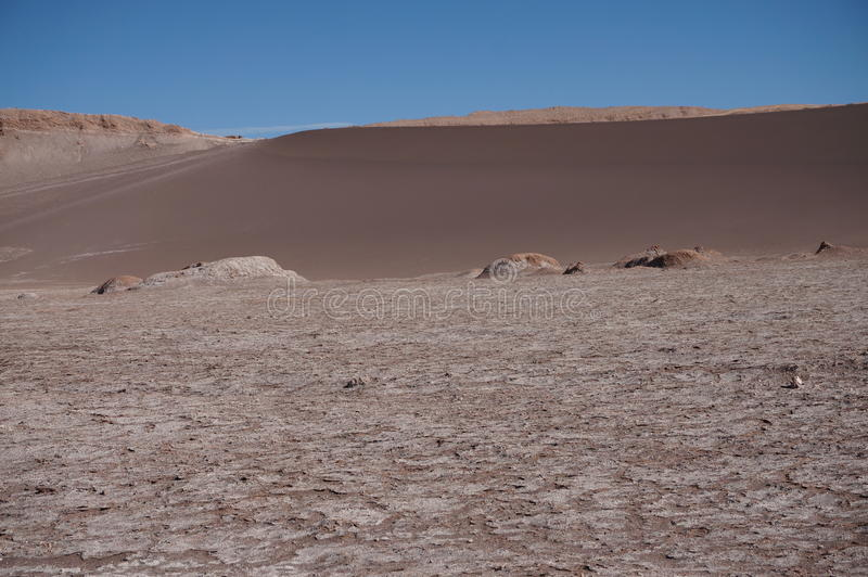 Dolina księżyc, Atacama, Chile zdjęcia royalty free