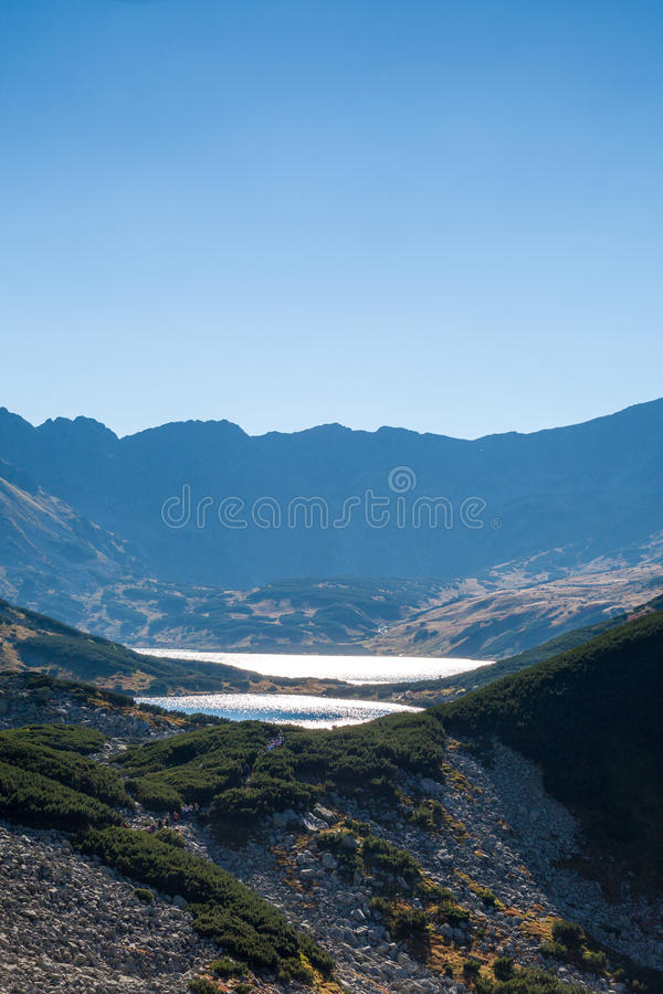 Dolina Pieciu Stawow in Tatras lizenzfreies stockfoto