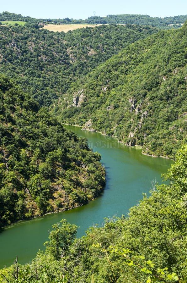 Dolina Tarn (Pyrenees) zdjęcia royalty free