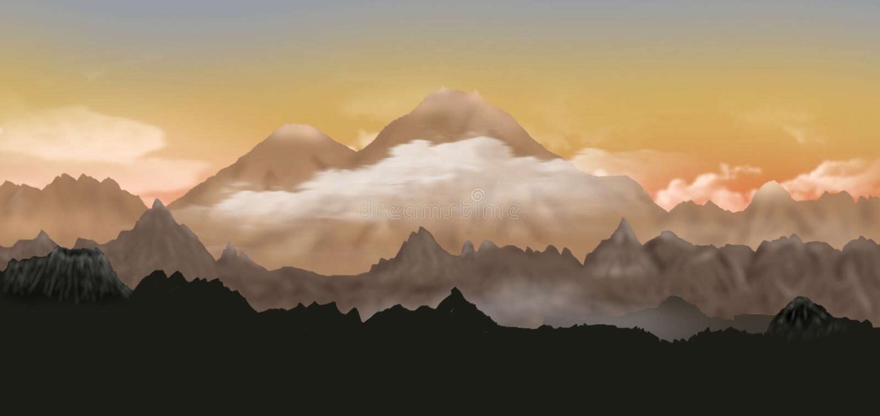 Dolina Volcanoes zdjęcia stock