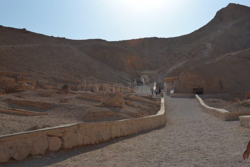 dolinni Egypt królewiątka zdjęcia stock