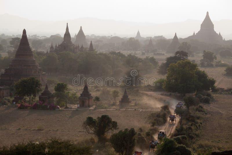 dolinni pagoda tysiące obrazy stock