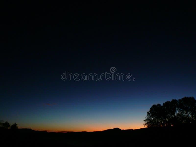 Dolinny wschód słońca zdjęcia stock