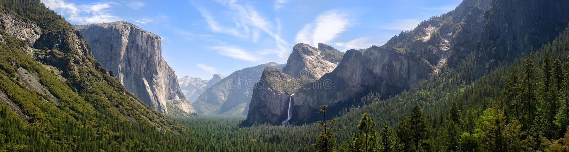 dolinny Yosemite fotografia stock