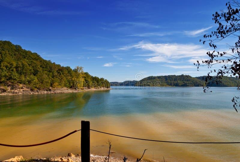 Doliny Wydrążenie jezioro zdjęcia royalty free