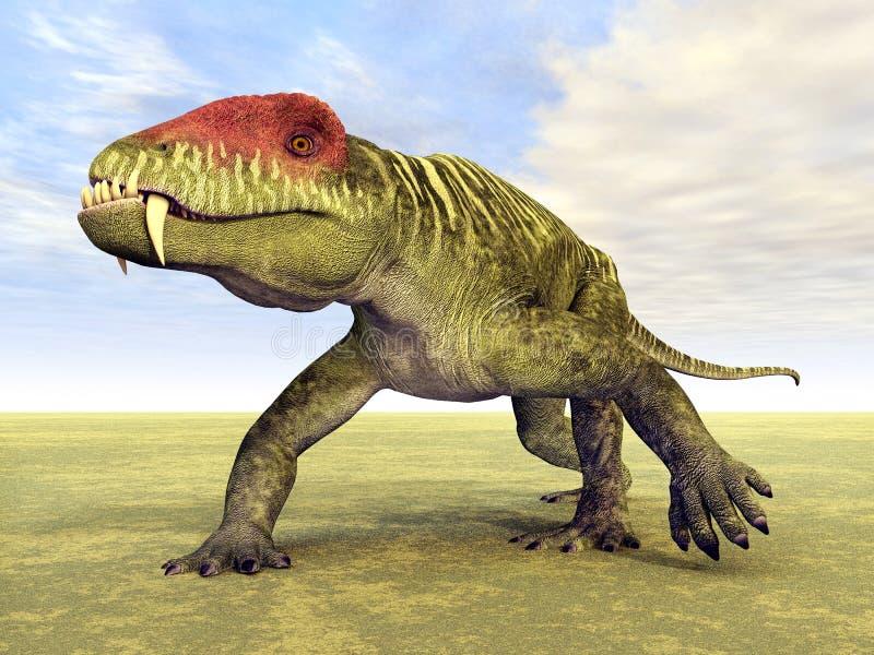 Doliosauriscus ελεύθερη απεικόνιση δικαιώματος