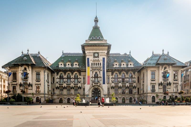 Dolj okręgu administracyjnego prefektura w Craiova, Rumunia zdjęcie stock
