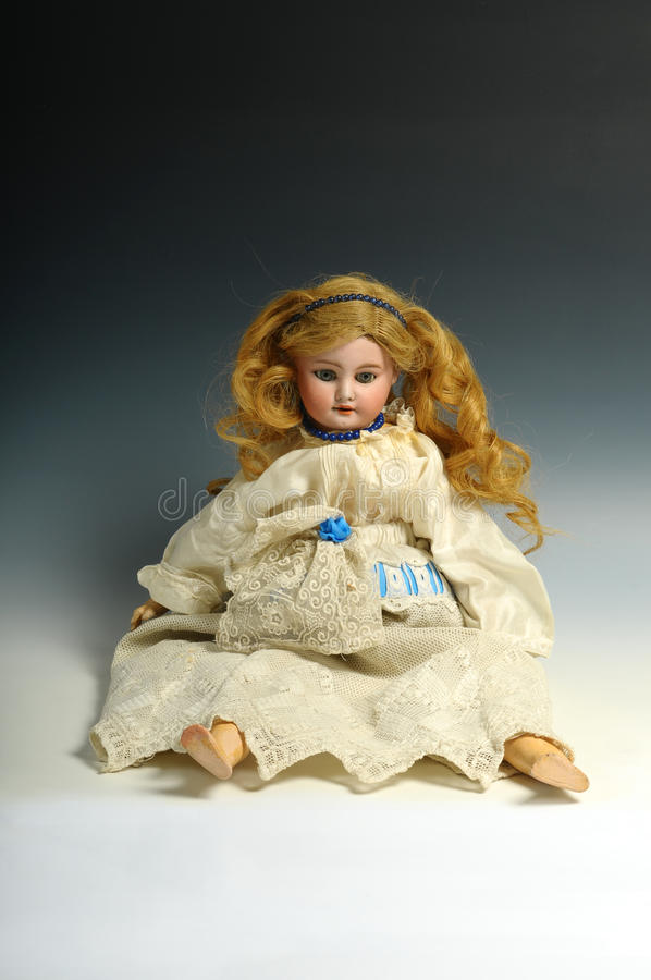Download Doll stock photo. Image of wearing, dress, female, sitting - 25240914